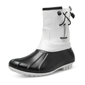 TONGPU LADY S PVC DUCK BOOTS WOMEN S CECILIA RAINBOOTS OUTDOOR BOOTS CASUAL BOOTS 9108