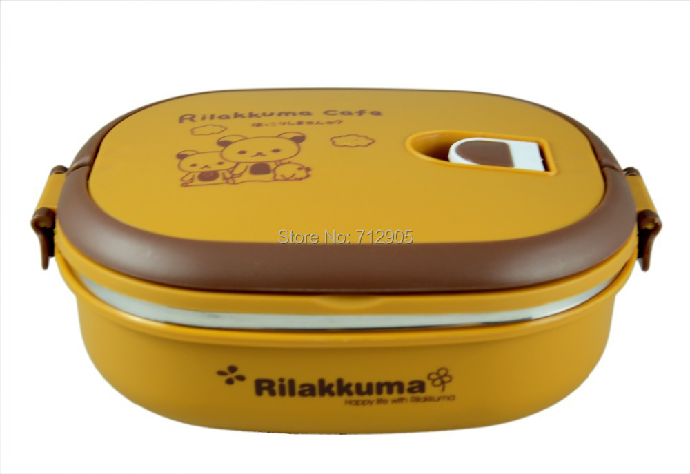 buy rilakkuma relax bear lunch box for. Black Bedroom Furniture Sets. Home Design Ideas