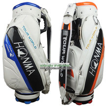 Hot sale New HONMA Golf bag Fashion PU High-Grade golf Cart Bag 9.5 Inch With 3colors in choice golf clubs bag Free shipping(China (Mainland))