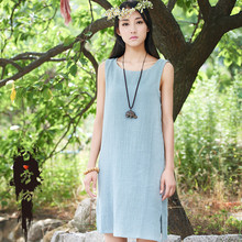Fashion New Summer Japan Style Mori Girl Kawaii Lolita Preppy Brief Women Solid Sleeveless Dropped Casual Tank Dresses Plus Size