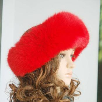 2012 fox fur headband