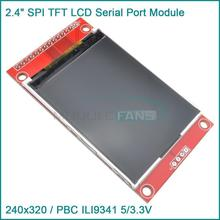 2.4″ 240×320 SPI TFT LCD Serial Port Module+5V/3.3V PBC Adapter Micro SD ILI9341