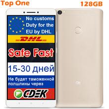 "Original Xiaomi Mi MAX Mobile Phone Snapdragon 652 Octa Core 4GB RAM 128GB ROM 6.44"" 4850mAh google play MIUI Fingerprint ID(China (Mainland))"