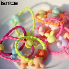 Buy 30pcs isnice 2017 cartoon Candy Color Kids Elastic Hair Rope Ponytail Band Ties Girls Hair Accessories for $3.31 in AliExpress store