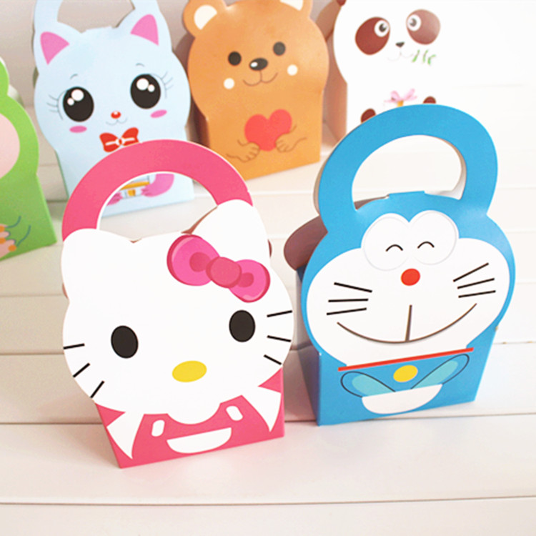 Wholesale 30pcs/lot Small Cute Animal Biscuit Paper Boxes Packaging for Baking Food Candy Cookie Chocolate Gift Packaging Boxes(China (Mainland))