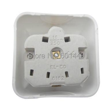 Consumer Electronics Electrical Equipment European sockets Switches European ceramic surface mounted socket M 001