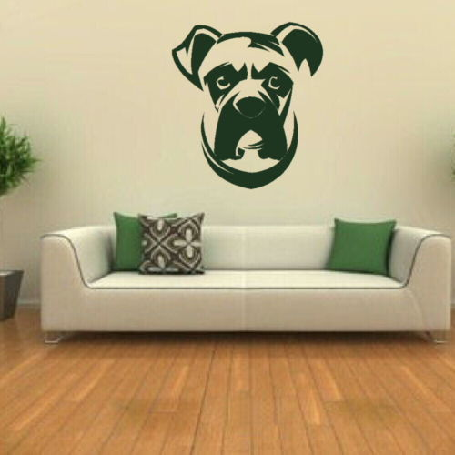 dog decor sticker wall stickers removable vinyl wall art mural wall