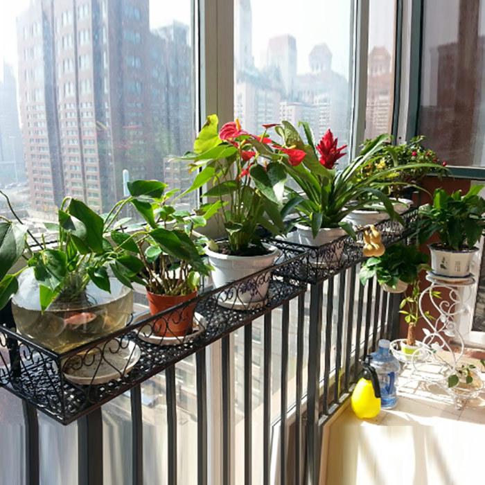 Декорация цветочных горшков