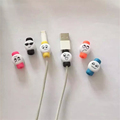 20 Pieces 1 Lot Cable Protector Charger Cord Saver Cover D4 New Style Cartoon Characters For