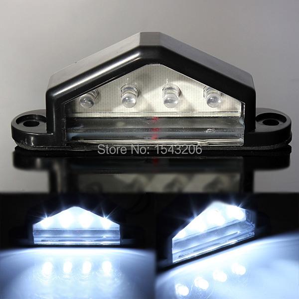 10-30V 12V 24V LED REAR LICENSE NUMBER PLATE LIGHT LAMP TRUCK TRAILER WATERPROOF(China (Mainland))
