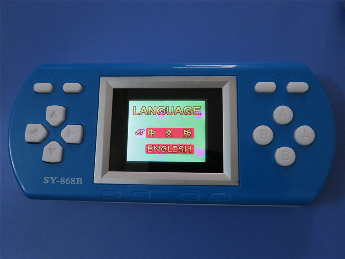 free shipping China supplier factory low price classical pocket handheld palms kid video games consoles(China (Mainland))