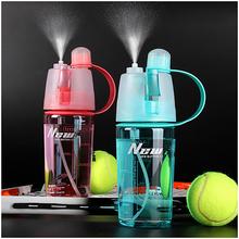 Creative Water Bottle Sport Spray Bottle Moisturizing Cycling Sports Gym Drinking Bottles 600ML/400ML Water Bottle(China (Mainland))
