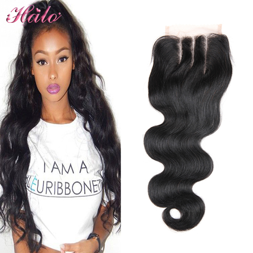 Mario Peruvian Lace Closure Unprocessed Human Hair 4X4 Body Wave Top Closure Pieces Bleached Knots Free Middle 3 Part Stock<br><br>Aliexpress