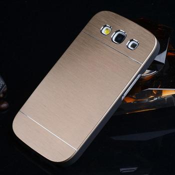 For Samsung Galaxy S3 SIII i9300 i9308 Luxury Brushed Aluminum Metal Back Cover Case Free Shipping