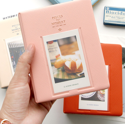 Bakufu clearshot polaroid mini 3 photo album 64 8 - MISS Marina store
