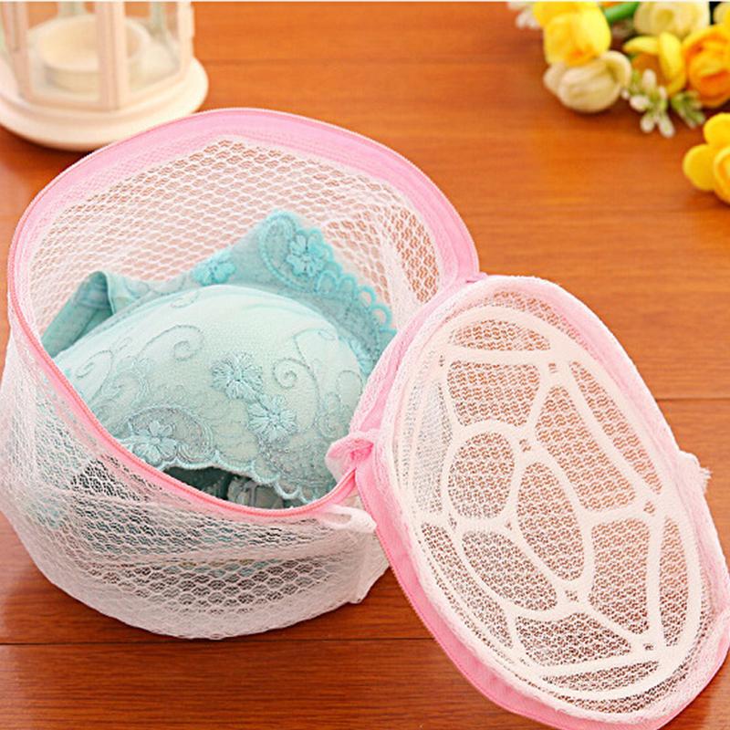 Women Hosiery Bra Lingerie Washing Bag Protecting Mesh Aid Laundry Saver Laundry Bags Home Using Clothes Washing(China (Mainland))