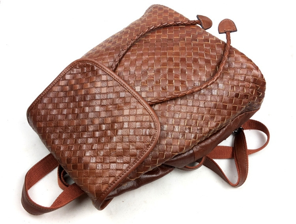 2015 100% Top Quality Weaving Cow Genuine Leather Women