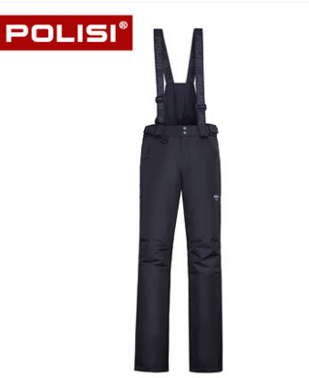 POLISI Professional Mens Windproof Waterproof Ski Bib Pants Breathable Winter Outdoor Sport Snow Skiing Snowboarding Trousers<br><br>Aliexpress