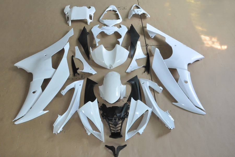 ABS Injection Mold Unpainted Bodywork Fairing For YZF R6 2008 2009 [CK1070]<br><br>Aliexpress