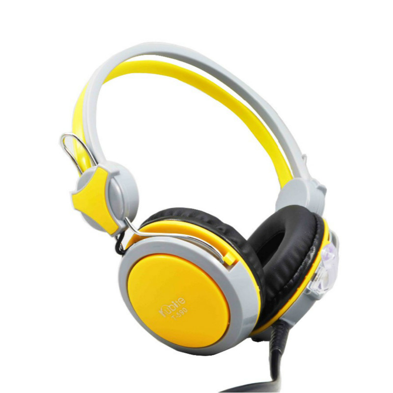 FineFun T-590 High-Quality Hi-Fi Speaker Surround Professional Gaming Stereo Headset With Microphone for Computer PC(China (Mainland))