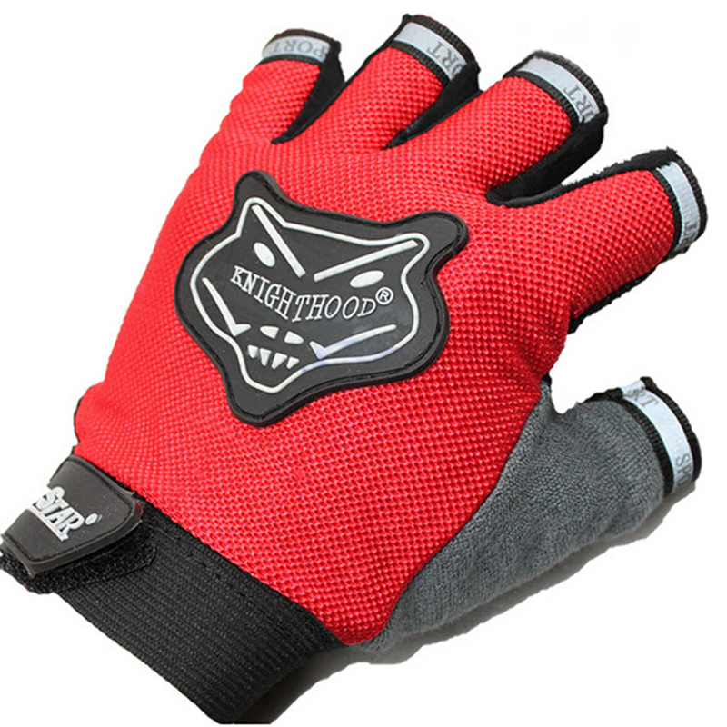 Outdoor Sports Bicicleta Gloves Climbing Bicycle Cycling Antiskid Silicone Gel Half Finger Gloves guantes ciclismo(China (Mainland))
