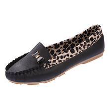New Arrival 2016 Spring and Autumn Flats for Women Flat heel Shoes Fashion Leopard Flats Women Shoes 2016 Free Shipping(China (Mainland))