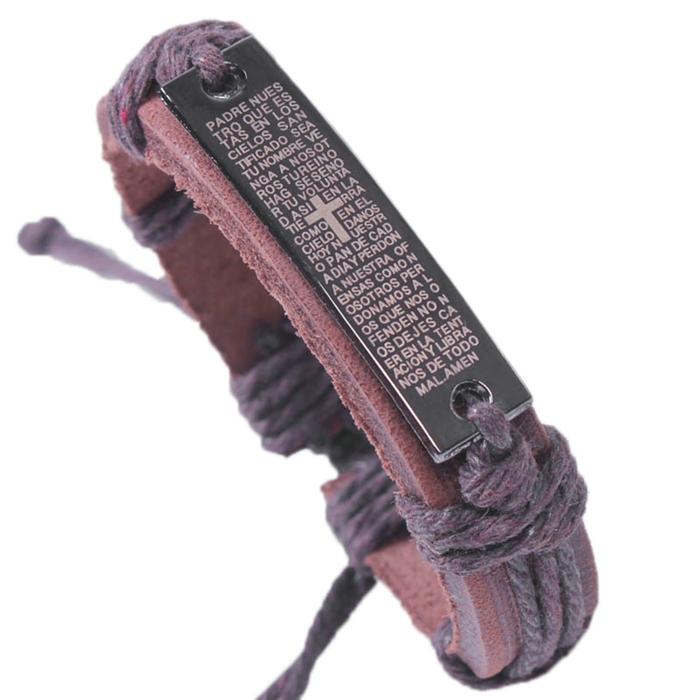 2015 Charm Genuine Leather Bracelets for Women Men Gifts 100 Brand For 4 Colors Bracelets Bangles