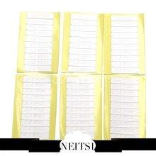 Neitsi 60 Pieces 4.0cm X 0.9cm Double Sided Tape for Skin Weft and Tape Human Hair Extensions Waterproof(China (Mainland))