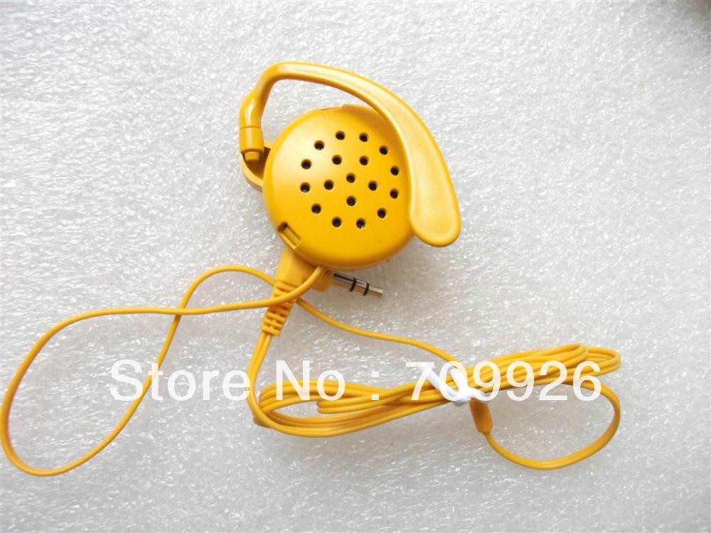 Здесь можно купить  Stereo Hook Earpiece/1-bud earpiece headsets  Cheap earphones  Min order 1000pcs  Бытовая электроника