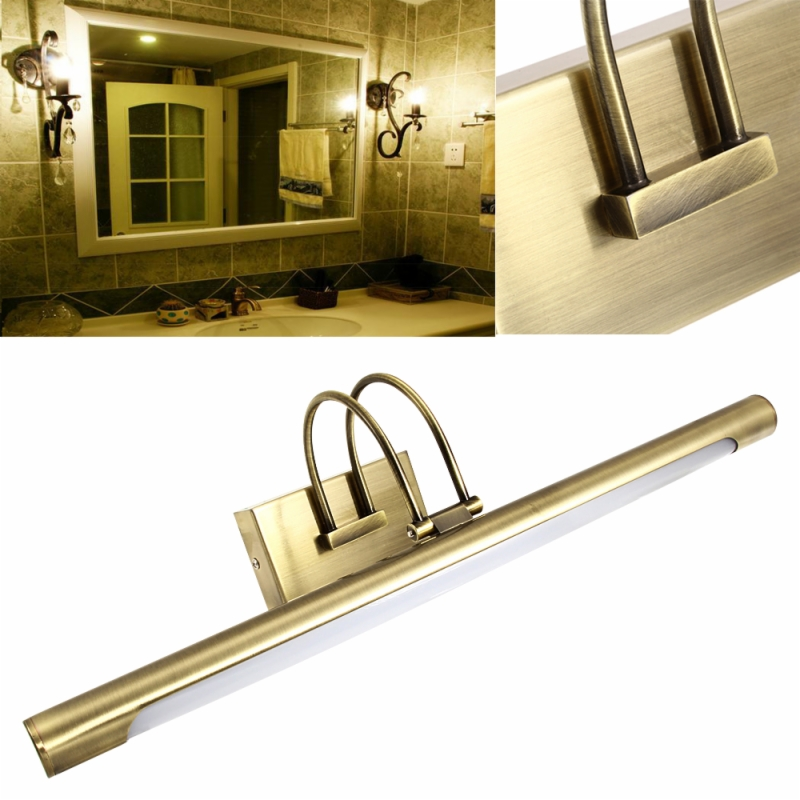 12W Bathroom LED Wall Mirror Picture Light Lamp Front Lighting WarmWhite 5630SMD(China (Mainland))