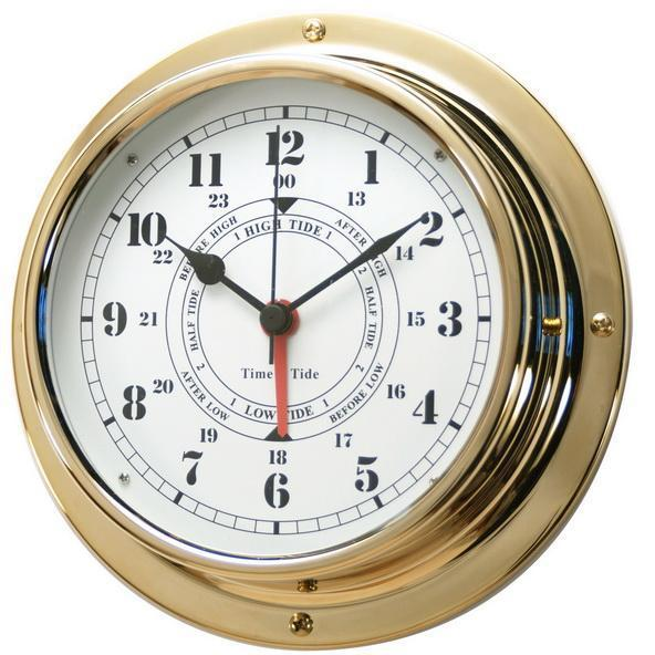Здесь можно купить  Nautical Brass Case Navigation Porthole Tide Clocks sailing items Nautical Brass Case Navigation Porthole Tide Clocks sailing items Дом и Сад