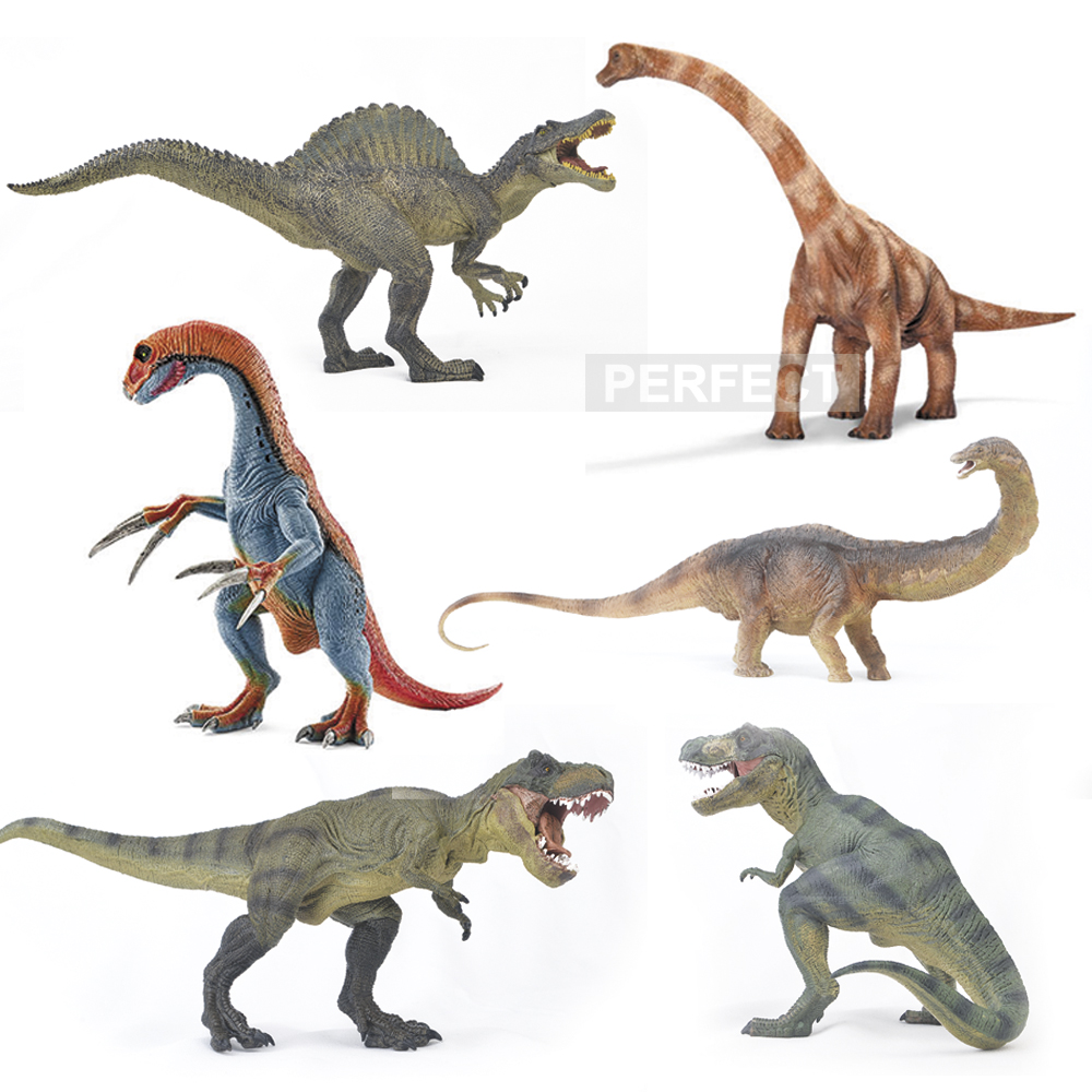 Jurassic World PVC Carnivorous Dinosaurs Allosaurus rex necked Classic toys Action & Figures T-REX DINOSAUR For Collections