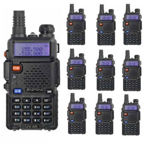 10pcs/lot BAOFENG New launch 4w 128 channel UV-5R 136-174&400-520MHz dual band dual display dual standby walkie talkie uv5r