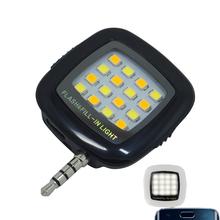Selfie enhancing phone 3.5mm flash lighting, Night using Pocket Spotlight lamp mobile LED video photo fill light Photographic