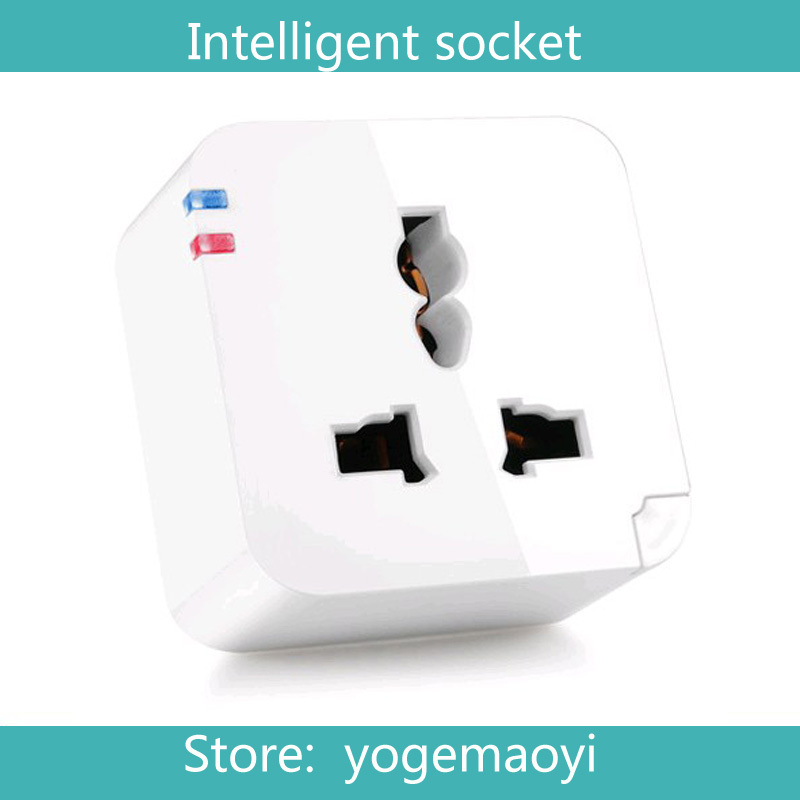 EU/AU/UK/US Smart plug WiFi Smartphone Remote control socket power supply electrical Wireless Switch Anddroid iPhone App - yogemayi store