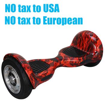 Hoverboard 10 inch 2 Wheels Smart Balance Scooter Hover board Standing Smart wheel Motorized Adult Roller Drift big tire Board
