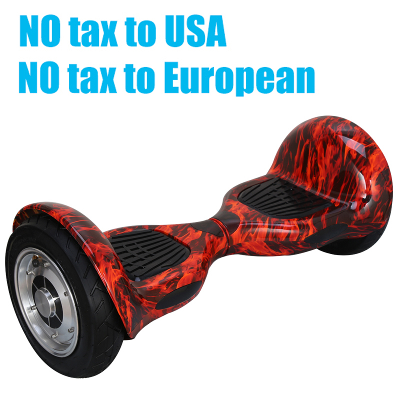 Hoverboard 10 inch 2 Wheels Smart Balance Scooter Hover board Standing Smart wheel Motorized Adult big tire UL2272 Authenticate(China (Mainland))