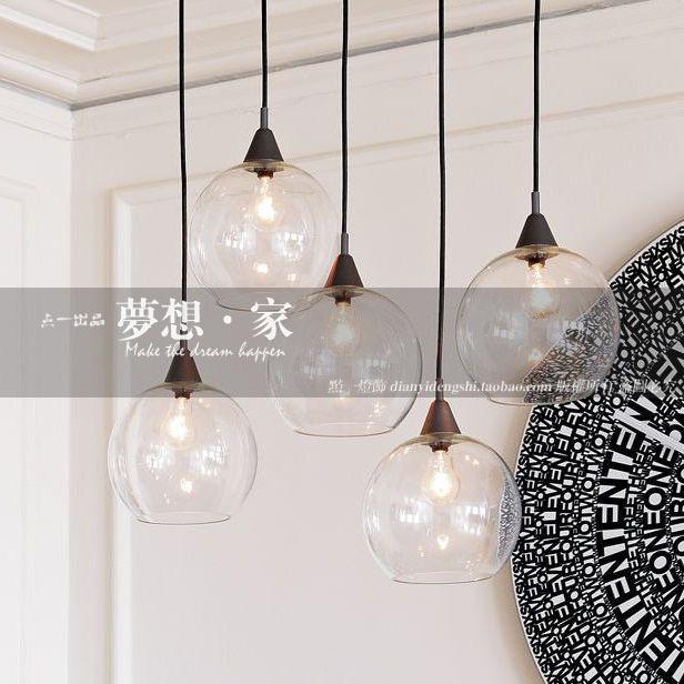 Lamp eettafel bar verlichting moderne korte persoonlijkheid hanglampen