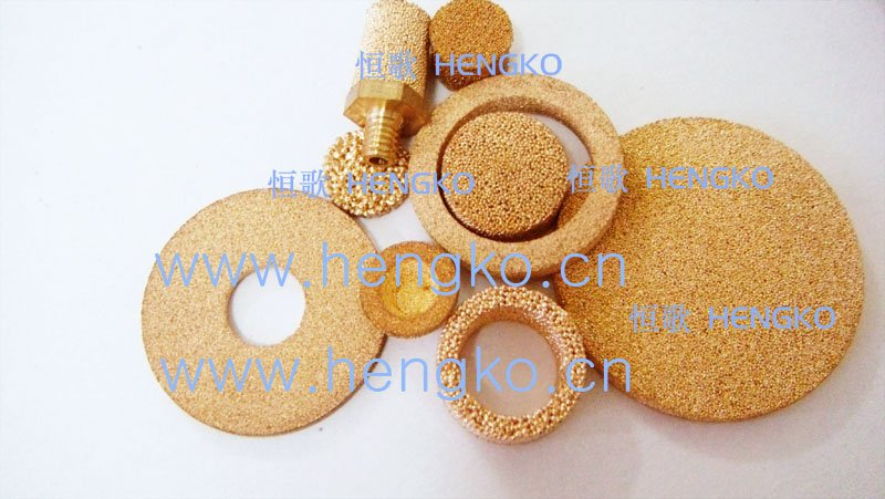D6.4*H10 Stainless bronze powder sintered filter disk(China (Mainland))