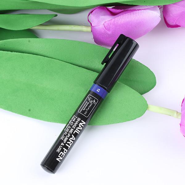 16 цветов , можно выбрать ногтей Art Pen картина польский точка рисунок уф-гель маникюр акриловая краска инструменты DIY украшения GZ001