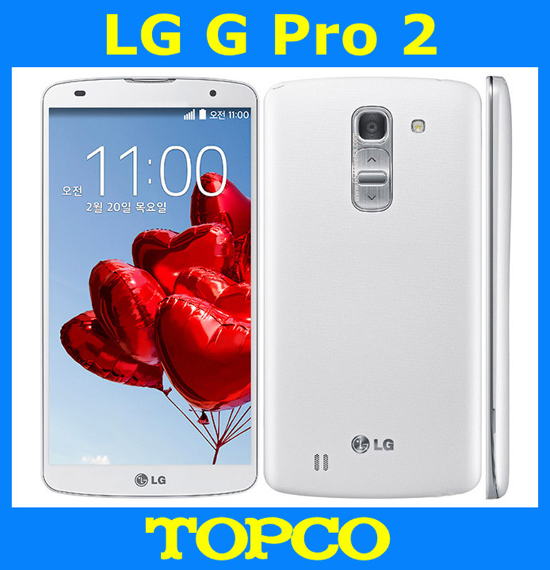 """LG G Pro 2 D837 D838 unlocked Android Mobile phone Quad core 5.9"""" 13MP 16GB ROM cell phone D837 GSM 3G&4G WIFI GPS dropshipping(China (Mainland))"""