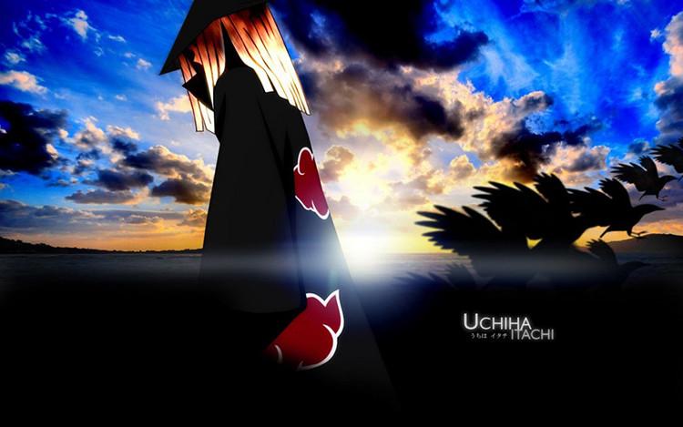Fashion Naruto Uchiha Sasuke Cosplay Schoolbag Studnet PU Shoulder Bag Cartoon Messenger Bags