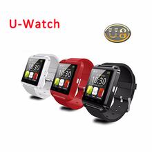 2015 горячей! Bluetooth-смарт часы U8 U наручные часы для Samsung HTC Huawei android-смартфоны SmartWatch поддержка синхронизации вызовов сообщение