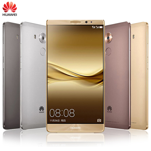 "Original Huawei Mate 8 LTE Mobile Phone Kirin 950 Octa-Core Android 6.0 OS 6.0"" Screen 4GB RAM 128G ROM 16.0MP Camera Smartphone"