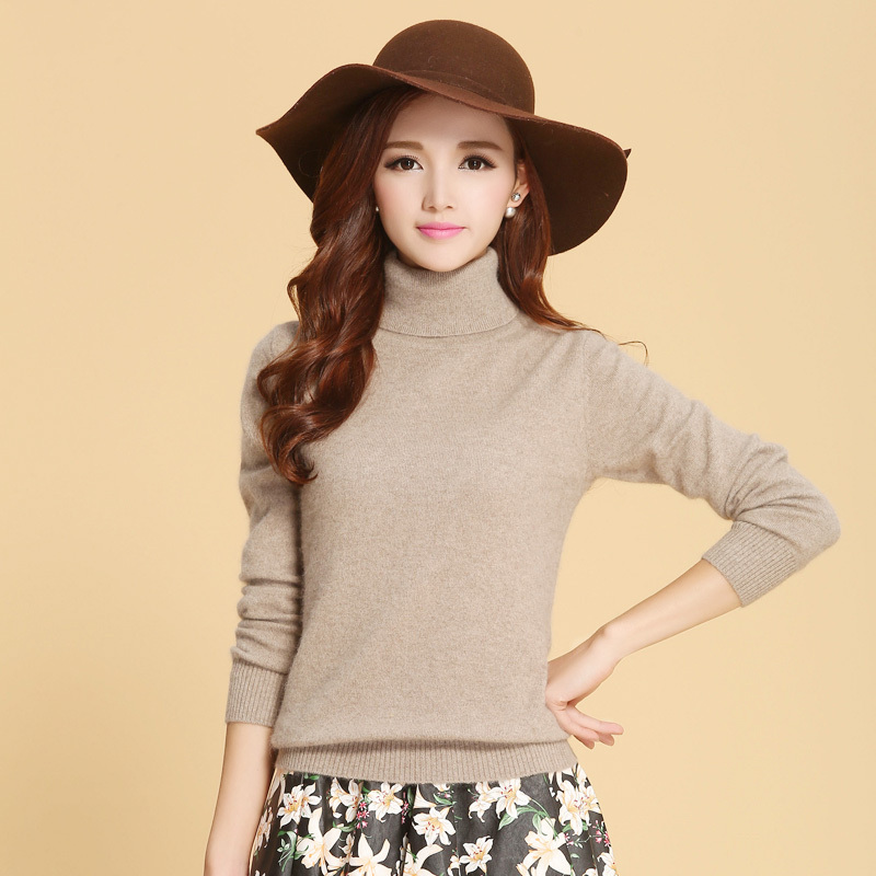 Soft Winter Turtleneck Sweaters Womens 2016 New Casual ...