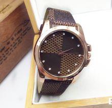 Venta caliente de moda oro trébol de acero Men ' s Women ' s Casual vestido de cuarzo deportes exterior reloj relogio masculino reloj