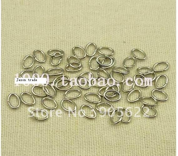 DIY accessories ,O shape silver colour , close jump ring ,500pcs/lot with FREE SHIPPING.(China (Mainland))