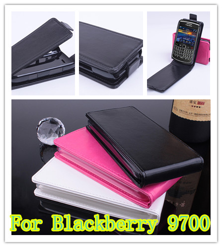 10pcs For Blackberry 9700 Case,Premium Flip Leather Case Magnetic Closure Pouch bag Cover For Blackberry 9700 fast delivery(China (Mainland))