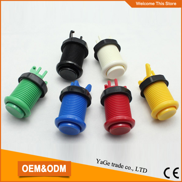 High quality plastic push button with micro switch, American push button switch(China (Mainland))
