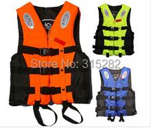 2016 Hot sell Child professional life vest life jacket fishing swim vest, with belt,whistle, child size,height less than 1.2m(China (Mainland))